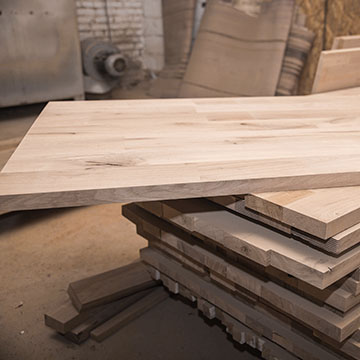 Laminated Wood Table Top
